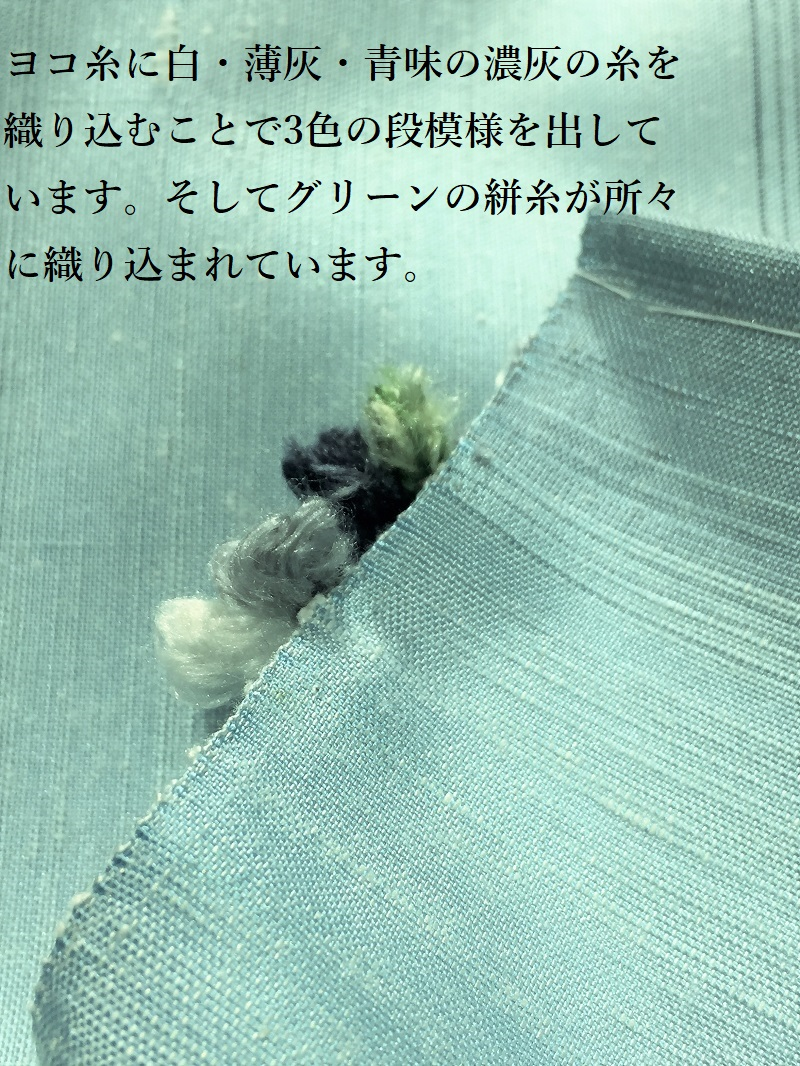 よねざわ新田 紅花紬絣