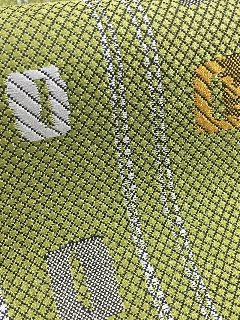 博多織小袋帯 キリン
