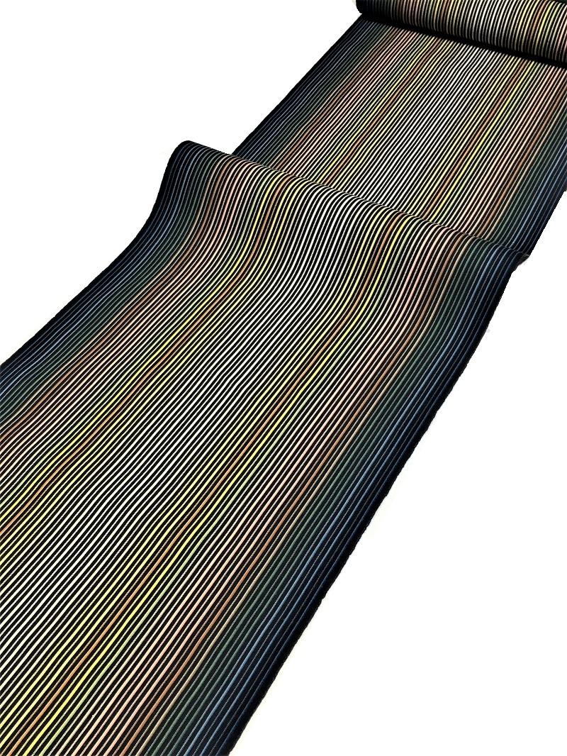 築城則子 小倉織 帯